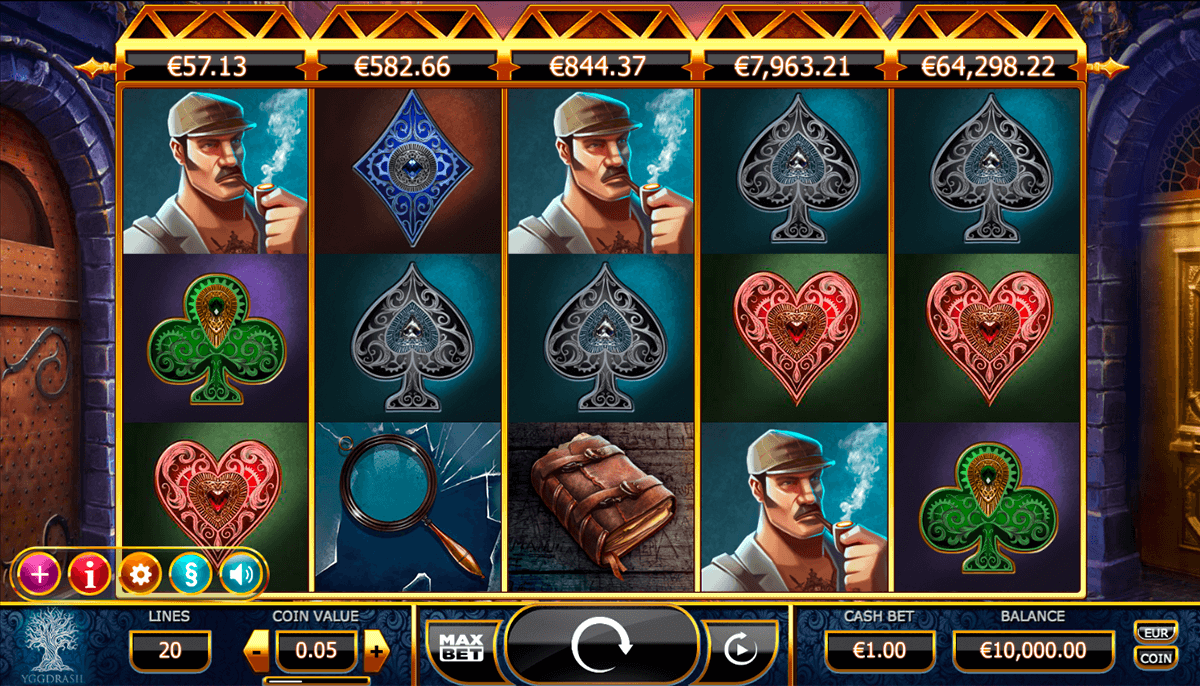 holmes and the stolen stones jogo casino online