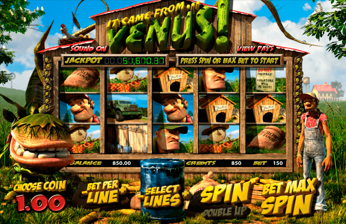 it came from venus betsoft jogo casino online