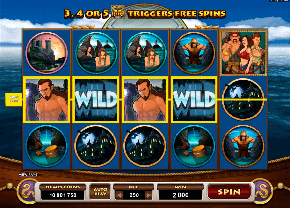 jason and the golden fleece microgaming jogo casino online