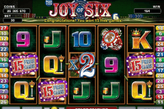 joy of six microgaming jogo casino online