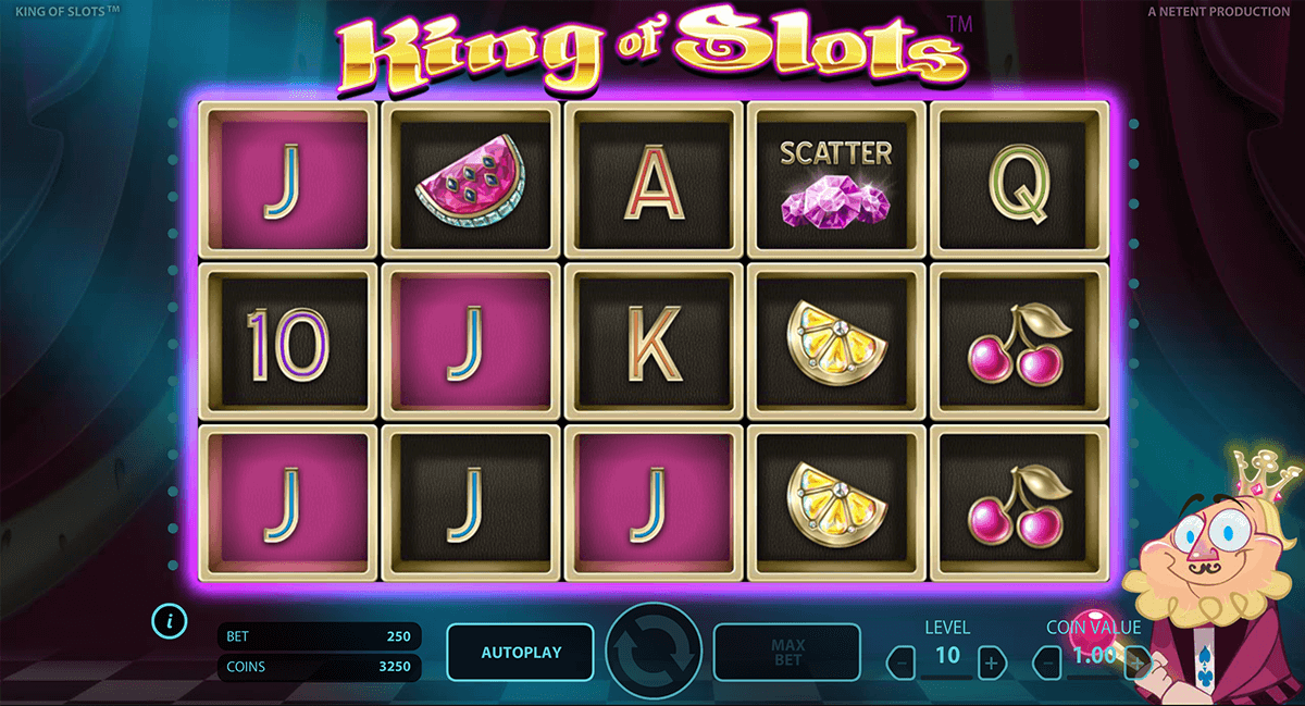 king of slots netent jogo casino online