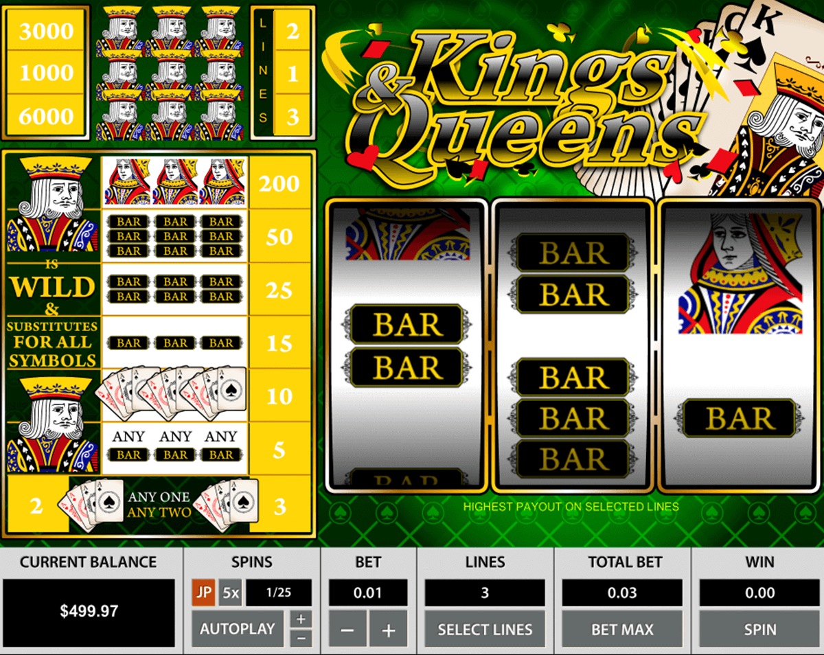 kings queens pragmatic jogo casino online