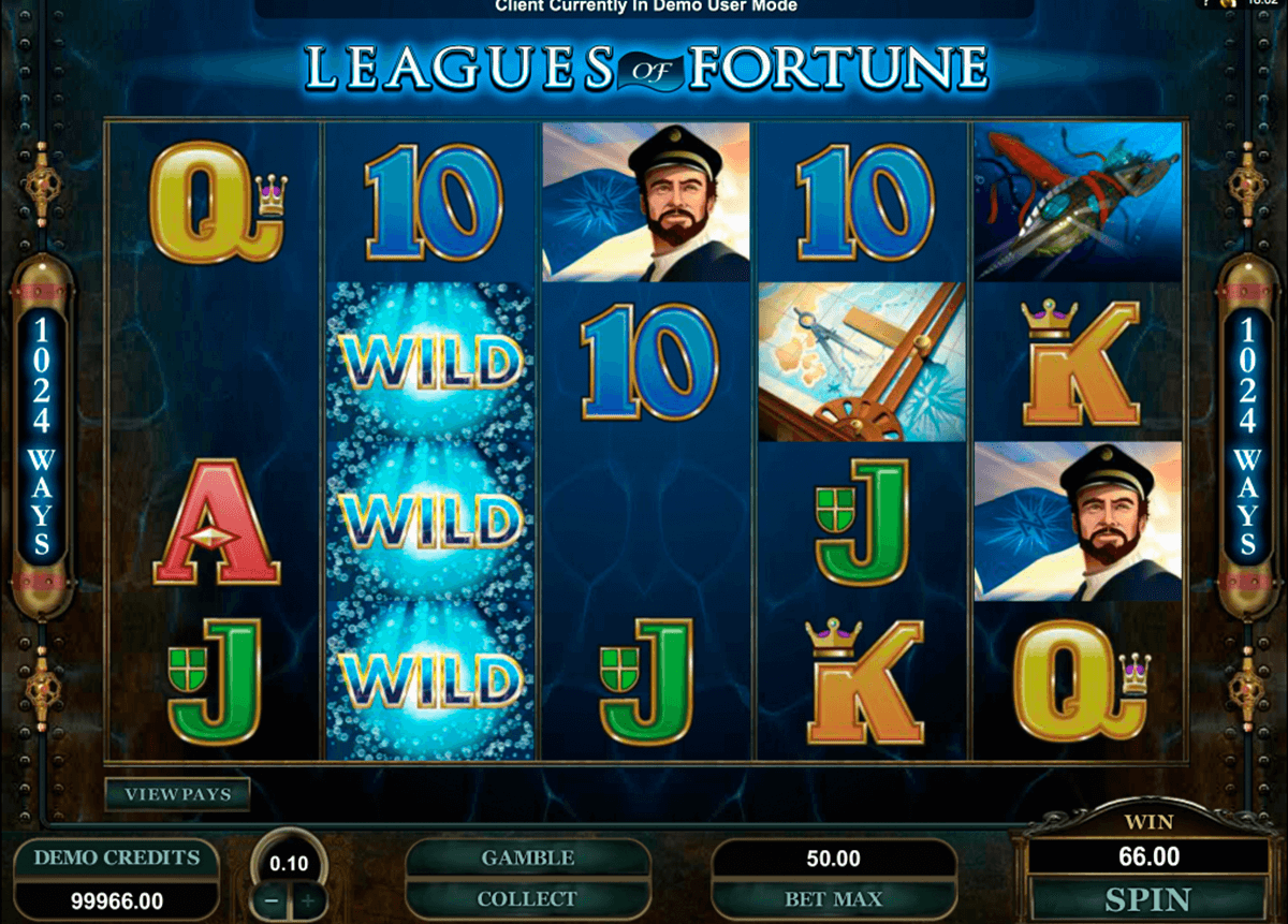 leagues of fortune microgaming jogo casino online
