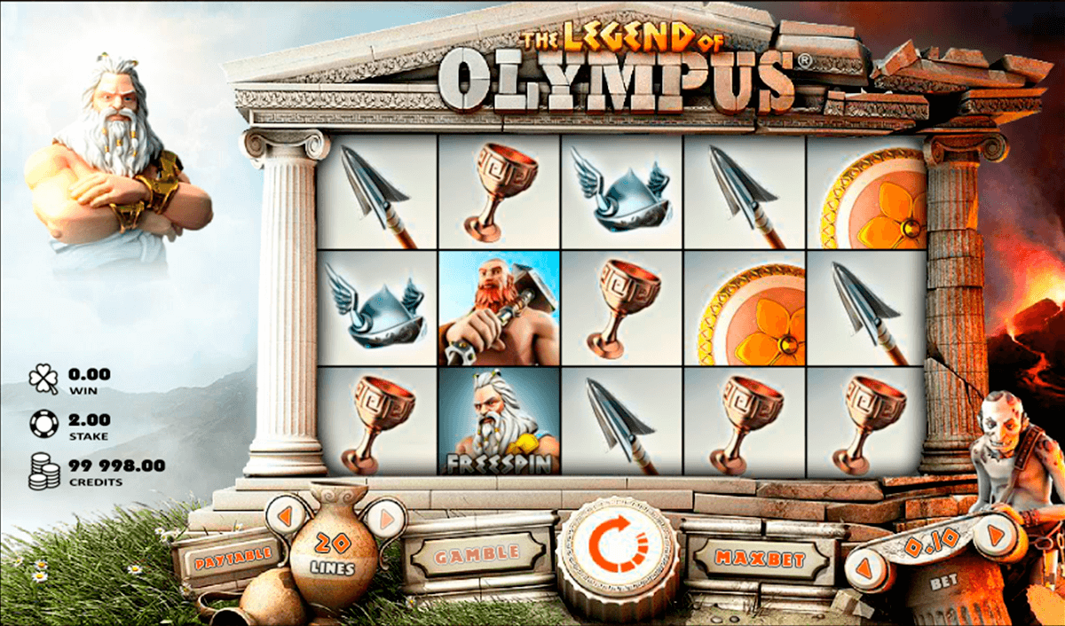legend of olympus rabcat jogo casino online