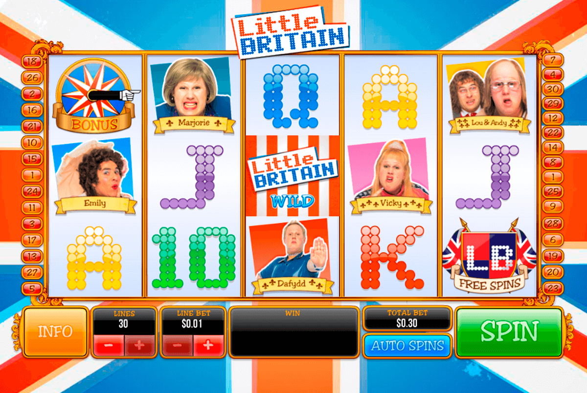 little britain playtech jogo casino online