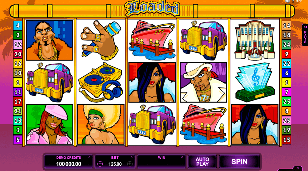 loaded microgaming jogo casino online