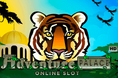 logo adventure palace microgaming caça niquel