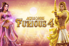 logo age of the gods furious 4 playtech caça niquel