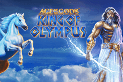 logo age of the gods king of olympus playtech caça niquel