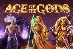 logo age of the gods playtech caça niquel