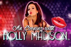 logo an evening with holly madison nextgen gaming caça niquel