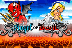 logo angel or devil playtech caça niquel