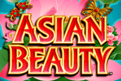logo asian beauty microgaming caça niquel