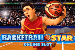 logo basketball star microgaming caça niquel