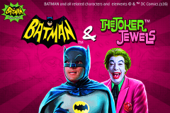 logo batman the joker jewels playtech caça niquel
