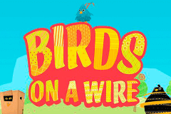 logo birds on a wire thunderkick caça niquel