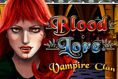 logo blood lore vampire clan nextgen gaming caça niquel