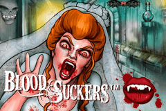 logo blood suckers netent caça niquel