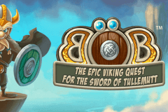logo bob the epic viking quest netent caça niquel
