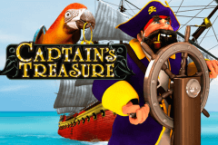 logo captains treasure playtech caça niquel