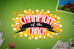 logo champion of the track netent caça niquel