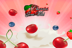 logo cherries gone wild microgaming caça niquel