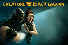 logo creature from the black lagoon netent caça niquel