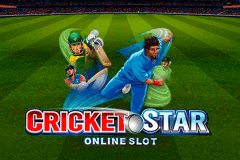 logo cricket star microgaming caça niquel