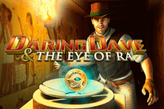 logo daring dave the eye of ra playtech caça niquel