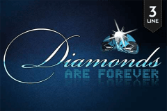 logo diamonds are forever pragmatic caça niquel
