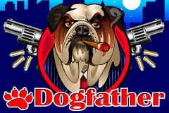logo dogfather microgaming caça niquel