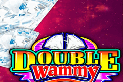 logo double wammy microgaming caça niquel