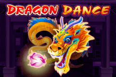logo dragon dance microgaming caça niquel