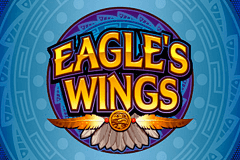 logo eagles wings microgaming caça niquel