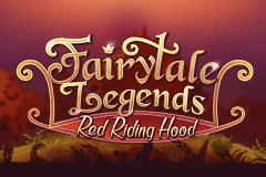 logo fairytale legends red riding hood netent caça niquel