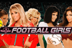 logo football girls playtech caça niquel