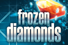 logo frozen diamonds rabcat caça niquel