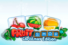 logo fruit shop christmas edition netent caça niquel
