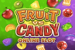 logo fruit vs candy microgaming caça niquel