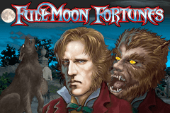 logo full moon fortunes playtech caça niquel