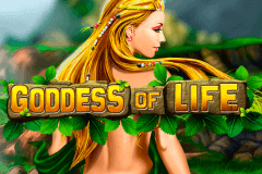 logo goddess of life playtech caça niquel