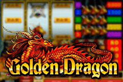 logo golden dragon microgaming caça niquel