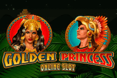 logo golden princess microgaming caça niquel