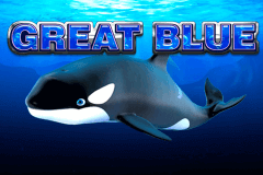 logo great blue playtech caça niquel