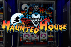 logo haunted house playtech caça niquel