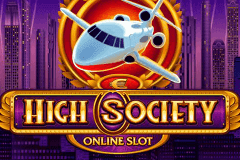 logo high society microgaming caça niquel