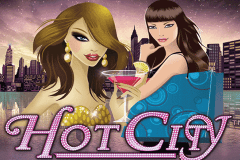 logo hot city netent caça niquel