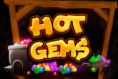 logo hot gems playtech caça niquel