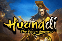 logo huangdi the yellow emperor microgaming caça niquel