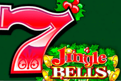 logo jingle bells microgaming caça niquel